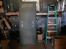 MILITARY SURPLUS TEMPER MGPTS TENT DOORS DOUBLE BUMP THROUGH  ARMY.. NO FRAMES