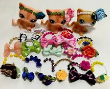 """Accessories"" For Littlest Pet Shop Set #5: 4 Random Beaded Head Bands."