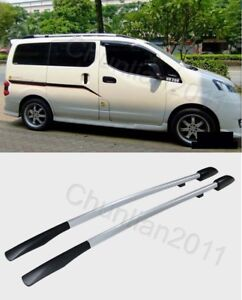 Factory Style Roof Rack Side Rails Bars for 2009-2018 NISSAN NV200