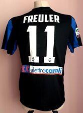 Atalanta2015 - 2016Home football Nike Math worn shirt #11 Freuler