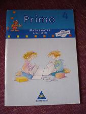 Primo 4 Mathematik Arbeitsheft mit Lernsoftware ISBN 9783507751774 Schroedel