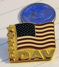 DAV AMERICAN FLAG LAPEL PIN