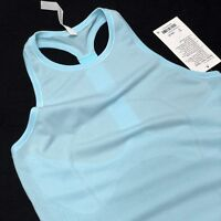 Lululemon Womens Top Swiftly Tech T Back Blue US8 / UK12