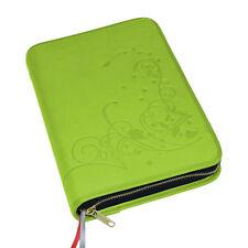 Gotteslobhülle Gotteslob Hülle Kunst Leder grün Ornament Gebetbuch Buchhülle