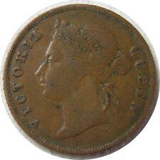 elf Straits Settlements 1 Cent 1897 Victoria