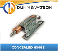 Zinc Plated Concealed Hinge - Camper Trailers, Caravans, Toolboxes, Torneous
