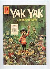 Dell FOUR COLOR #1186 Yak Yak 1961 FN Vintage Comic