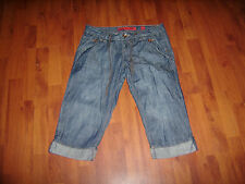 QS by s.Oliver ABBY 3/4 lange Jeans gr.38 M kurzeHose  smart low Bermuda Shorts