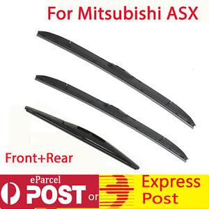 Windscreen Wiper blades for MITSUBISHI ASX XA XB XC 2010-2019 Front+Rear