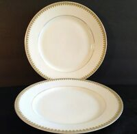 ROYAL SCHWARZBURG LUNCHEON PLATES. RAMEKIN. SET OF 2. RSC52 1904-1924. 8 1/4""