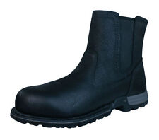 Flat (0 to 1/2 in.) Leather Medium (B, M) Slip On Boots for Women