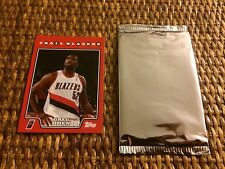 2008 Topps NBA Basketball Greg Oden Rookie Card (Possible Auto) Pack Sealed