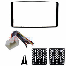 Radio Replacement Dash Mount Kit 2-DIN & Harness for Ford/Lincoln/Mercury