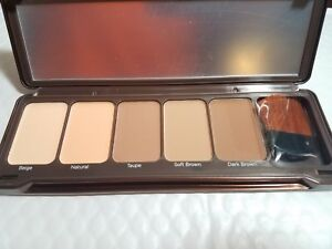 BEAUTY CREATIONS CONTOUR 5 SHADES WITH BRUSH NEW ORIGINAL