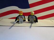 LEGO HARRY POTTER MINFIGURE'S DRACO MALFOY & RON WEASLEY