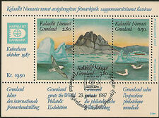 GREENLAND :1987 Hafnia 87  Miniature Sheet SG MS169 fine used