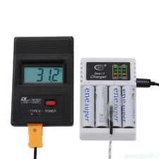 Universal LED Smart Rechargeable AA AAA C D Size 5V NI-MH NI-Cd Battery Charger