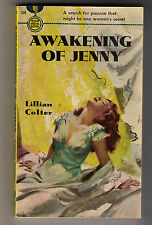 The Awakening of Jenny by Lillian Colter, Gold Medal First 1950, Hi Grade