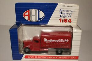 HARTOY AHL MONTGOMERY WARD DELIVERY TRUCK PETERBILT 260 MODEL #L03016, 1:64SCALE