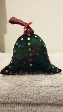 Handmade  hanging Christmas bell.