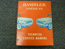 1961 Rambler American Shop Service Repair Manual Coupe Convertible Hardtop Wagon