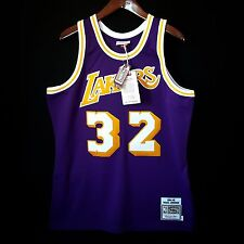 100% Authentic Magic Johnson Mitchell & Ness NBA Lakers Jersey Size 40 M