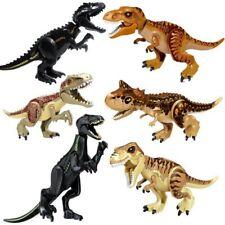 Dinosaur Figure Bricks Building Jurassic Dino Mini Blocks Kids Toy Tyrannosaurus