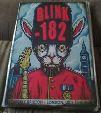Blink 182 Poster Style Wall Sign New & Metal