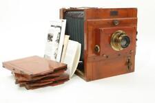 Used Reisekamera German 13x18cm Tailboard Camera w/ Thorton Pickard Shutter RARE