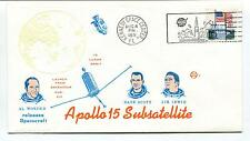 1971 Apollo 15 Subsatellite Worden Scott Irwin Kennedy Space Center Space Cover