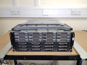 Dell EqualLogic PS6100E 36TB (12x 3TB 7.2K SAS) iSCSI Dual Controller SAN Array