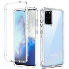 For Samsung Galaxy S20/S20 Plus/S20 Ultra 4G Heavy Duty Hybrid Clear Case Cover
