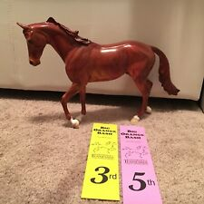 Peter Stone Ooak Design A Horse Thoroughbred - Rare Lsq And Lsp