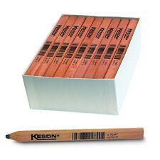 Keson Carpenters Pencils 72 per Box 11671