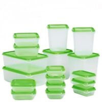 IKEA 17 Piece Container Food Storage Set with Lids