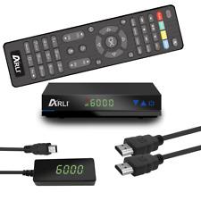 HD sat receptor digital por satélite Arli ah1 dvb-s2 HDTV HDMI USB con lista de canales