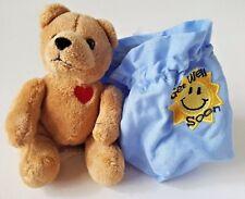 """HERRINGTON TEDDY BEARS PETIT FOURS """"GET WELL SOON"""" PLUSH STUFFED TEDDY BEAR 4"""""""
