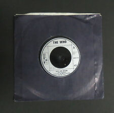"The WHO  -7""Single- Let's See Action/When I Was A Boy, EX+"