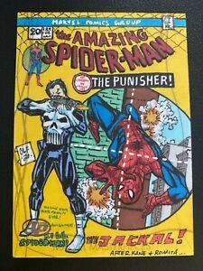 2020 Upper Deck Marvel Masterpieces Chris Foreman Spider-Man #129 AP Sketch 1/1