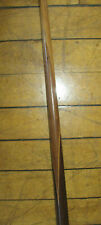 Antique ROSEWOOD? Mahogany? CUE STICK WITH DOUBLE BUTTERFLY  4705