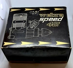 Rarität, Webra 40 speed Verbrennermotor