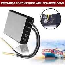 Us Diy Portable Mini Spot Welder Machine Welding Powerpen For 18650 Battery