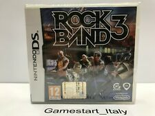 ROCK BAND 3 - NINTENDO DS - GIOCO NUOVO SIGILLATO PAL - NEW SEALED ROCKBAND