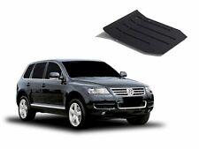 VW TOUAREG 2002-2010 ENGINE GUARD SKID PLATE UNDERTRAY BLACK STEEL