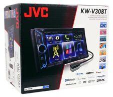 "JVC KW-V30BT 6.1"" double din stereo AV system with built in Bluetooth BRAND NEW"