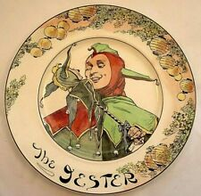 1910'S? Royal Doulton The Jester Figure Plate D 6277