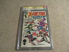 X-Factor #5 CGC SS x3 9.8 Signed Simonson Frenz Rubinstein Marvel 2006 White Pg