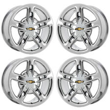 "19"" 20"" CHEVROLET SSR PVD CHROME WHEELS FACTORY OEM SET 5167 5169 EXCHANGE"