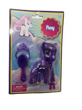 My Little Pony Mini Figure Brush & Tiara 3+