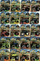 Hot Wheels MONSTER JAM Trucks Die-cast Metal 1:64 Connect & Crash Assortment Lot